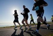 Personal Trainer Michael Anders running marathon
